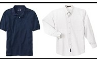 Polo or Oxford style shirts