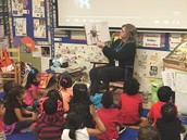 Ms. Kyler's PreK Panthers learn about bugs & discuss their characteristics!