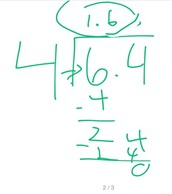 How to Divide Decimals: Step 3
