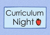 Allen Host Our First Curriculum Night
