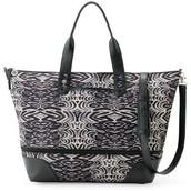 Getaway Bag in Painted Zebra $60