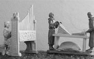 representació d'un orgue medieval