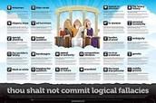 What is a rhetorical fallacy?  A logical fallacy?  False Assumption?