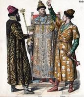 Russian Tsar with Boyars-17th century