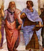 How did Plato and Aristotle spread their beliefs?