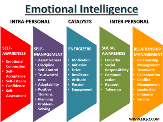 a comparison of the emotional quotient and the intelligence quotient for measuring human intelligenc