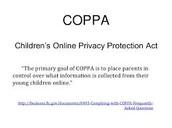 COPPA Goal