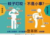 預防感染登革熱  從不被蚊子叮咬做起