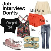 Don'ts At A Interview