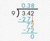 Dividing with decimals!
