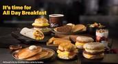 תמונה של ארוחת בוקר במקדונלדס