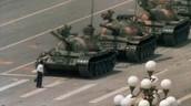 Tank Man in Tiananmen Square