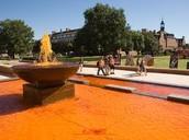 Fountain at OSU