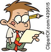 The teacher will analyze my writing for errors.