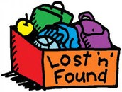 Lost & Found to be Donated on Monday