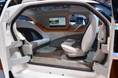 Interior of Google Driver Less Car