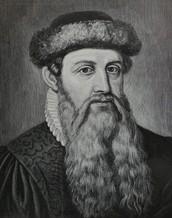 January 1st, 1445 Johann Gutenberg Invents The Printing Press