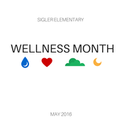 May is Wellness Month at Sigler Elementary