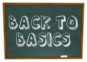 4. Going back to Basics