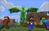 run form the creeper monster