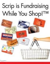 SCRIP- Shop to Earn Cash Back for Tuition!
