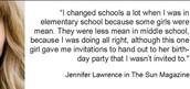 JENIFER LAWRENCE!
