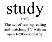 Not Studying