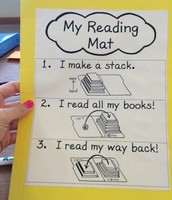 Sample Reading Mat Directions