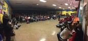A full house at our Pillow Holiday Performance! Great to see the Panther families!