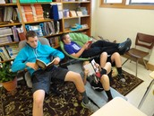 Using reading time well!