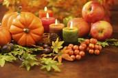 Thanksgiving Food due November 20th!