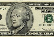 10 dollarit