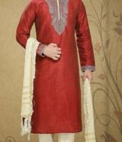 Man Wearing Salwar Kameez