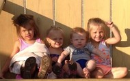 All of the kiddos!