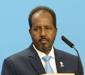 President Hassan Sheik Mohumad