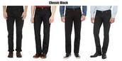 Largo pantalones negro ($trienta y cinco)