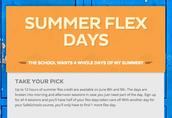 Sign up for summer workshops!