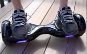 How to ride a hover board