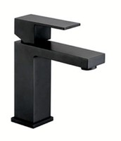 Galaxy Black Basin Mixer