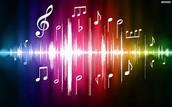 Me gusta escuchar la música