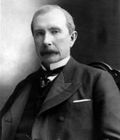 John D. Rockefeller- had steel monopoly