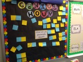 Genius Hour Bulletin Board