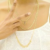 Terra Layering Necklace, $79