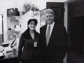 Monica and Bill together