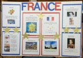 Awesome project created by our 2nd grade Panthers with their French teacher!