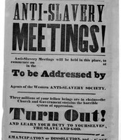 The aboliton of slavery
