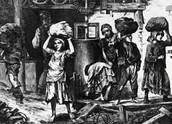 Children working in the Coal Mines