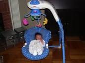 Baby in swinger