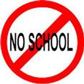 NO SCHOOL-   Memorial Day ~  Monday, May 29