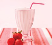 Strawberry Dreamsicle Shake